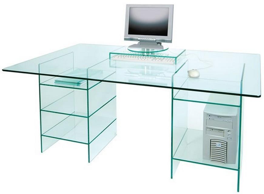 : Стеклянный стол для компьютера. Офисная мебель, Киев, …